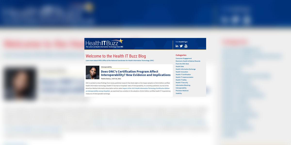 ONCs Health IT Buzz Blog: A Peek Behind the Curtain