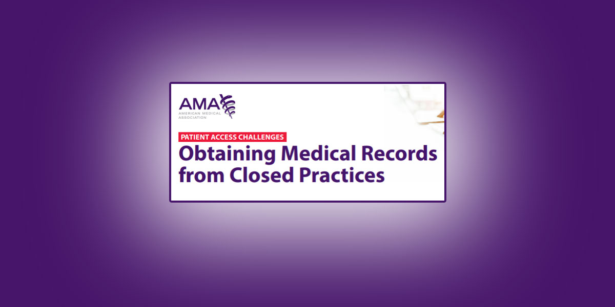 Obtaining Records From Closed Practices